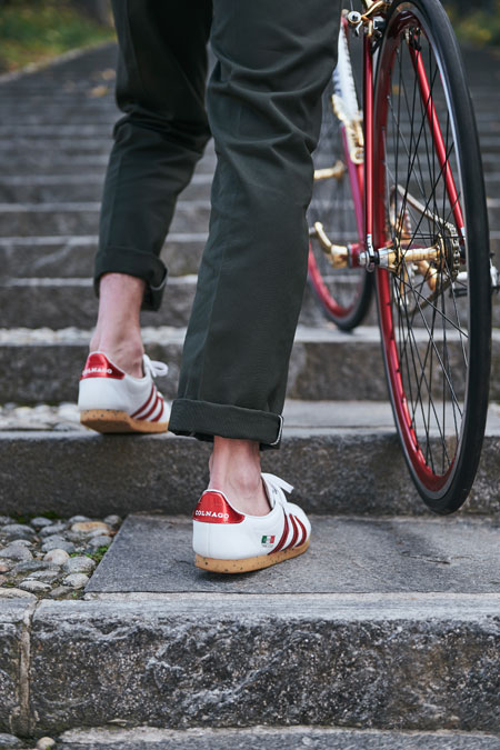 size x Colnago x adidas Trimm Star - On feet 3
