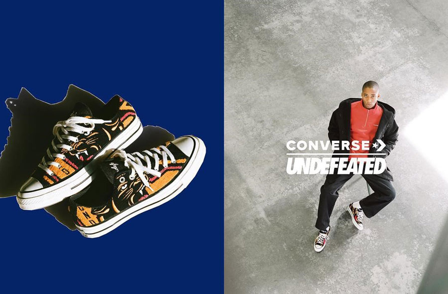 UNDEFEATED x Converse Chuck 70 Varsity Jacket - Mood 2