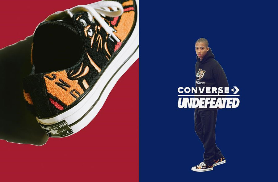UNDEFEATED x Converse Chuck 70 Varsity Jacket - Mood 3