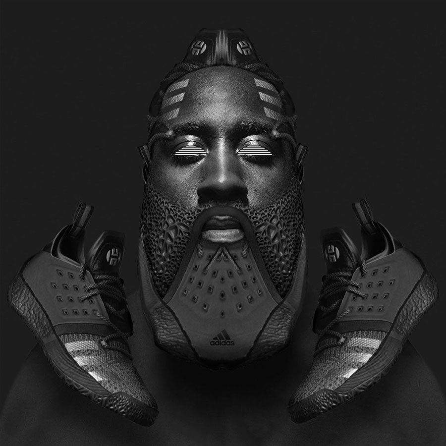 Visual Artist Jeff Cole - James Harden Nightmare