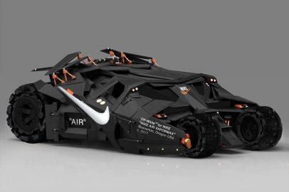 Visual Artist Jeff Cole - OFF-WHITE Batmobile