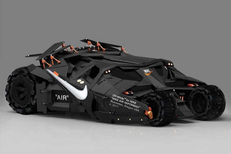 Visual Artist Jeff Cole - OFF-WHITE Batmobile