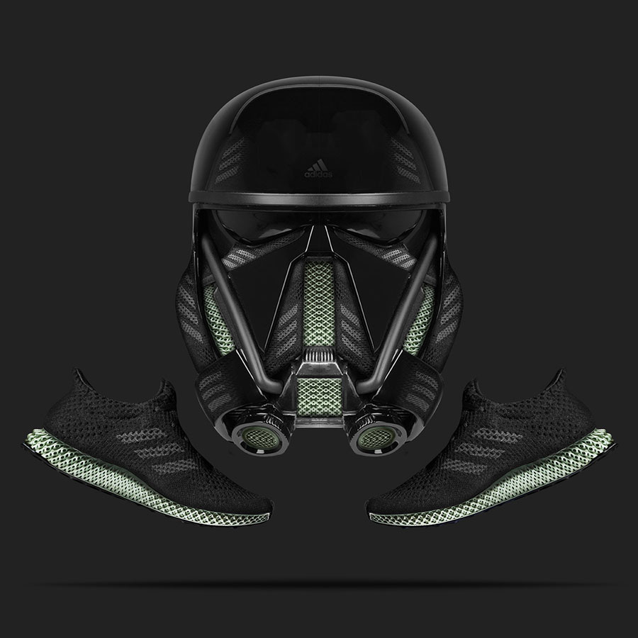Visual Artist Jeff Cole - Storm Trooper adidas Futurecraft 4D