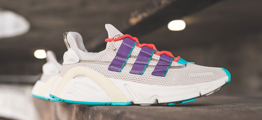 adidas LXCON Adiprene Clear Brown Active Purple Shock Red (EE7403) - Mood 1