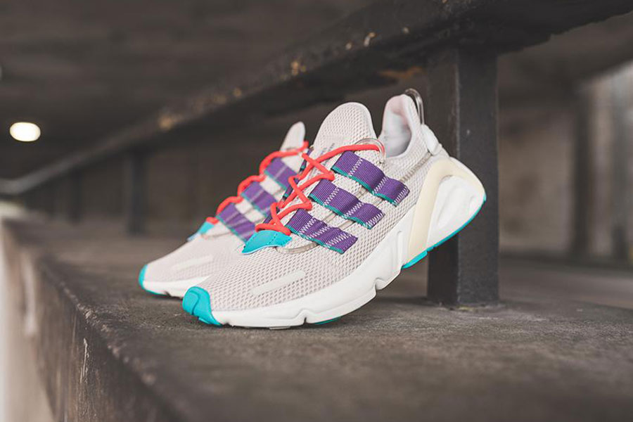 adidas LXCON Adiprene Clear Brown Active Purple Shock Red (EE7403) - Mood 2