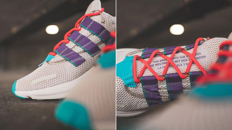 adidas LXCON Adiprene Clear Brown Active Purple Shock Red (EE7403) - Mood 3