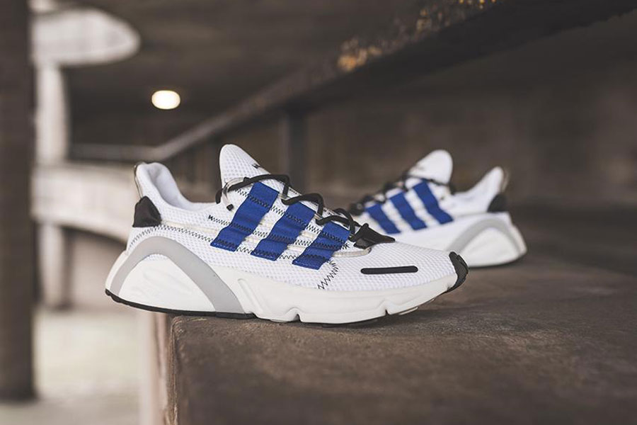 reputable site cb3d8 08a62 adidas LXCON Adiprene Ftwr White Active Blue Core Black (DB3528) - Mood 2
