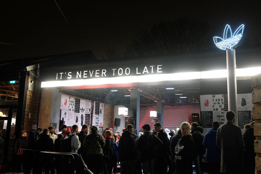What Went Down at the adidas Nite Jogger Launch in London