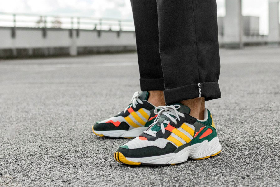cheaper 67bb4 f6946 adidas Celebrates Retro Style on the Yung-96