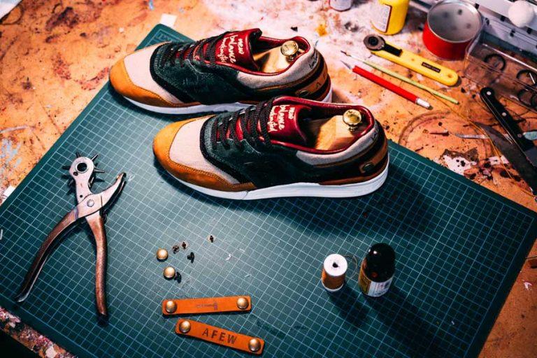Afew x New Balance 997 Craftsmanship 5