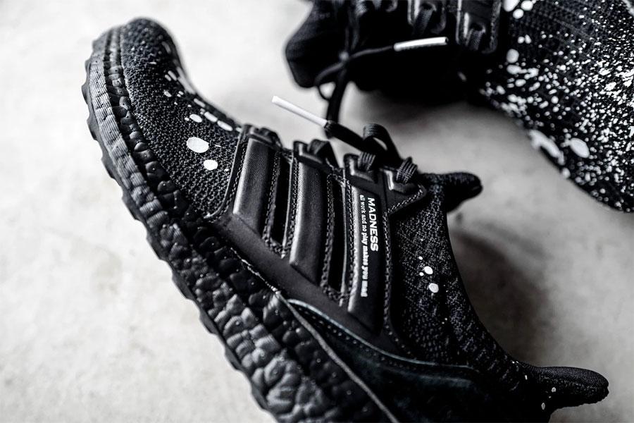 MADNESS x adidas UltraBOOST 4.0 Black - Mood 2