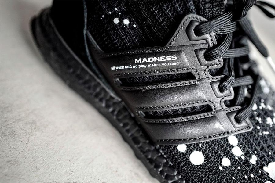 MADNESS x adidas UltraBOOST 4.0 Black - Mood 3