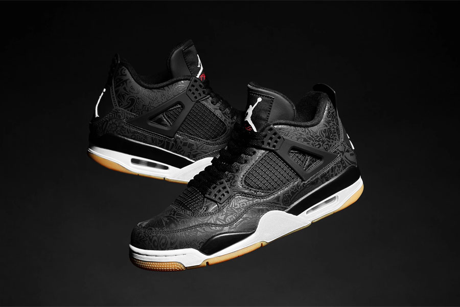 Nike Air Jordan 4 Retro Black Laser (CI1184-001) - Mood 1
