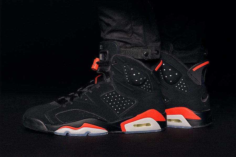 Nike Air Jordan 6 Black Infrared 2019 (384664-060) - KITH 1
