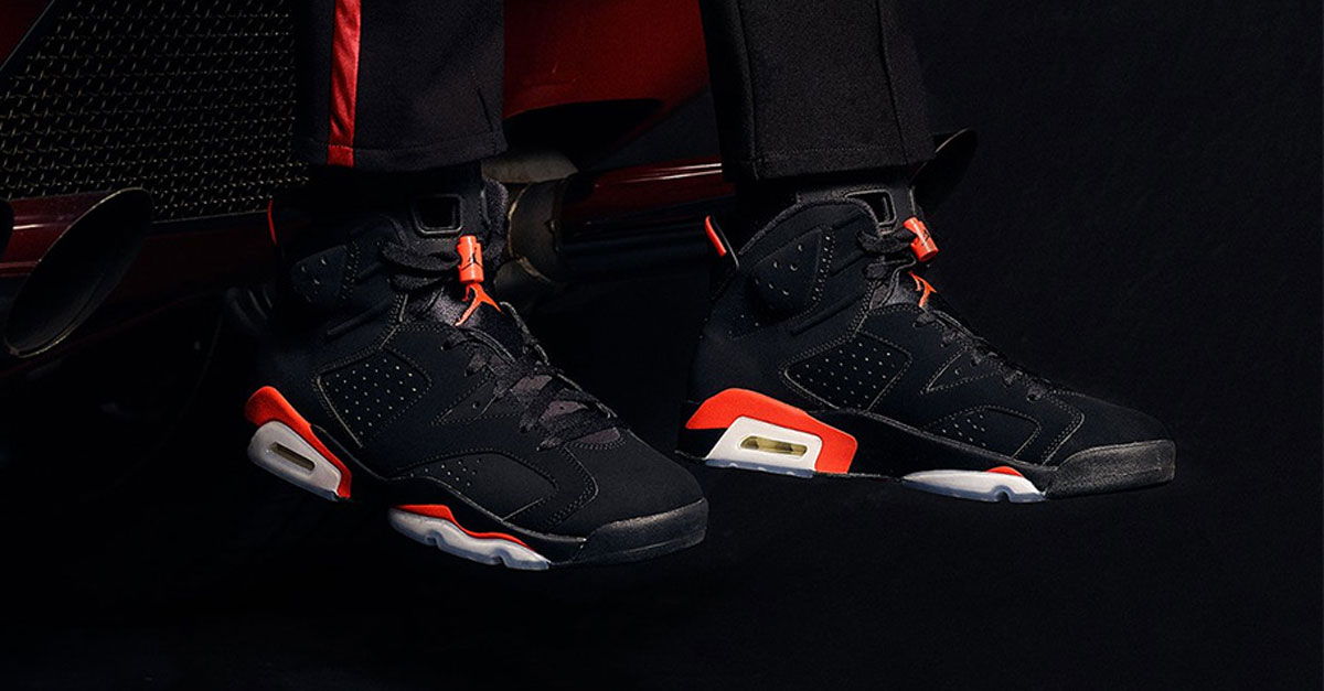 huge selection of 92a09 4edca How to Get the Air Jordan 6 Black Infrared Early   SNeakers Magazine