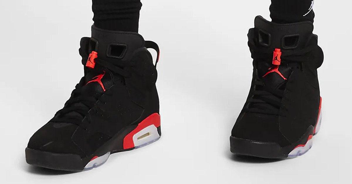 silencio Detener Estimar  Nike Air Jordan 6 Black Infrared (384664-060) | Sneakers Magazine