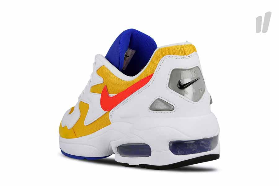 Nike Air Max2 Light University Gold (AO1741 700) - Heel