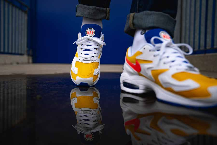 Nike Air Max2 Light University Gold (AO1741 700) - Mood 2 9701e4b89