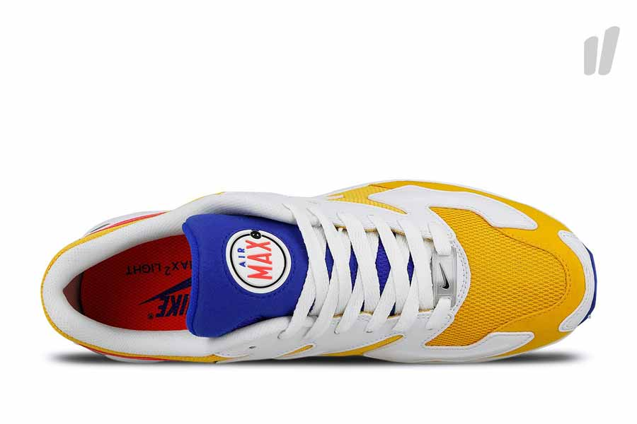 Nike Air Max2 Light University Gold (AO1741 700) - Tongue