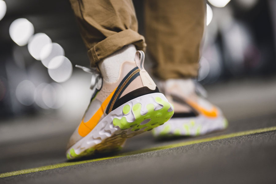 Nike React Element 87 Touch of Lime (AQ1090-101) - Mood 3