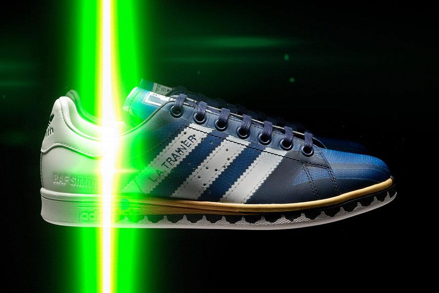 Raf Simons x adidas Trompe L'Oeil Pack - LA Trainer 1