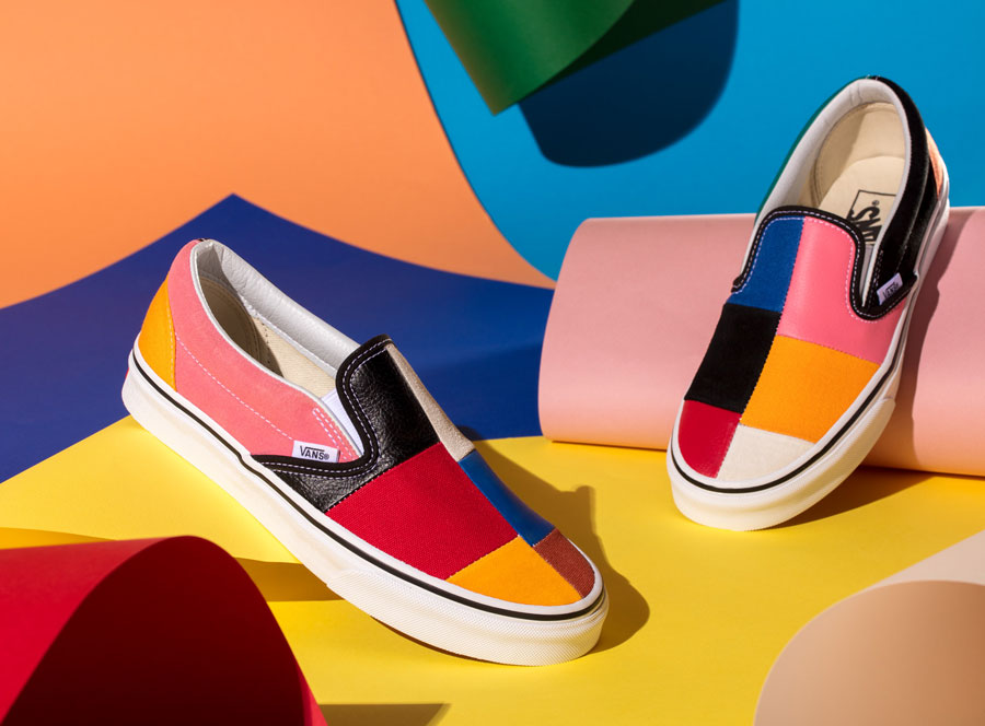 VANS Patchwork Pack - Slip-On (Mood)