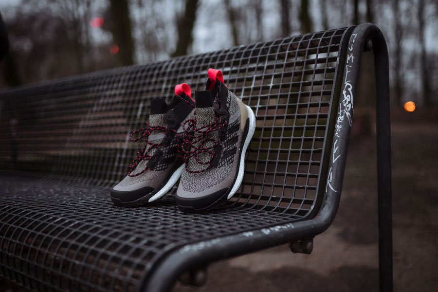 Get ready to escape the noise in adidas TERREX Free Hiker.