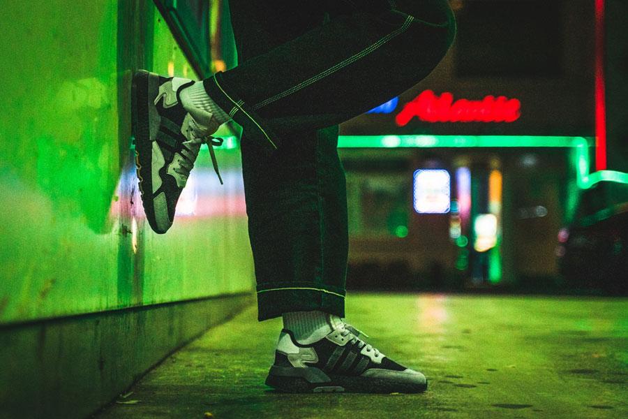 adidas Nite Jogger Core Black Carbon (BD7933) - Mood 3