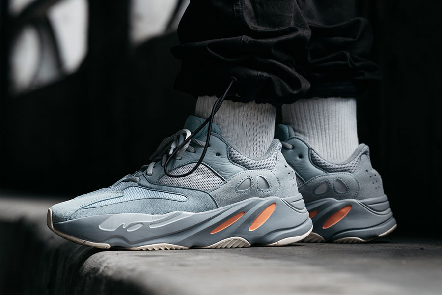 Groenlandia Clasificación censura  See the adidas YEEZY BOOST 700 Inertia on Feet | Sneakers Magazine