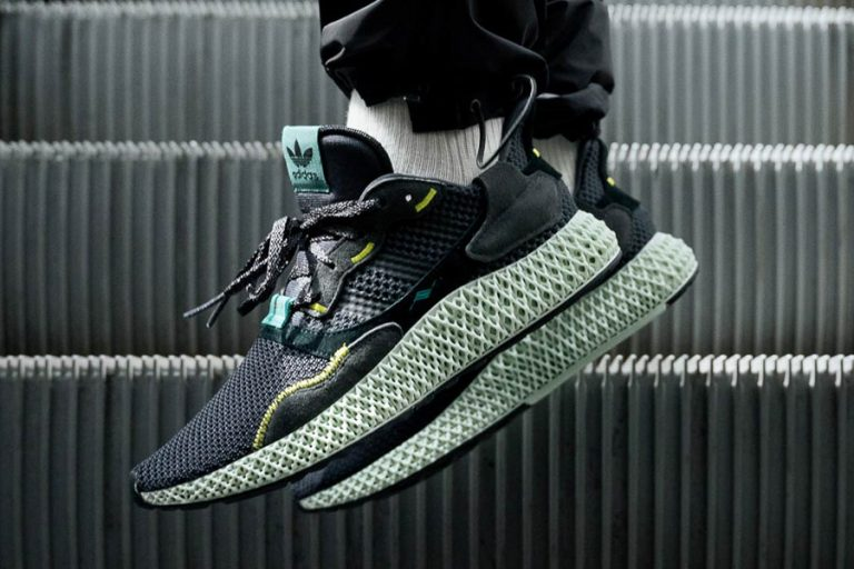 adidas ZX 4000 4D Futurecraft Carbon - Mood 1