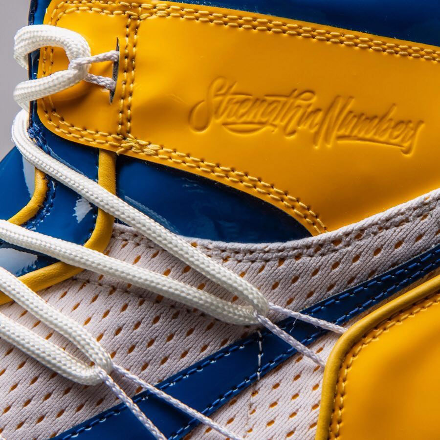 4df900906b5e Air Jordan 1 Golden State Warriors Custom by The Shoe Surgeon - Mood 3