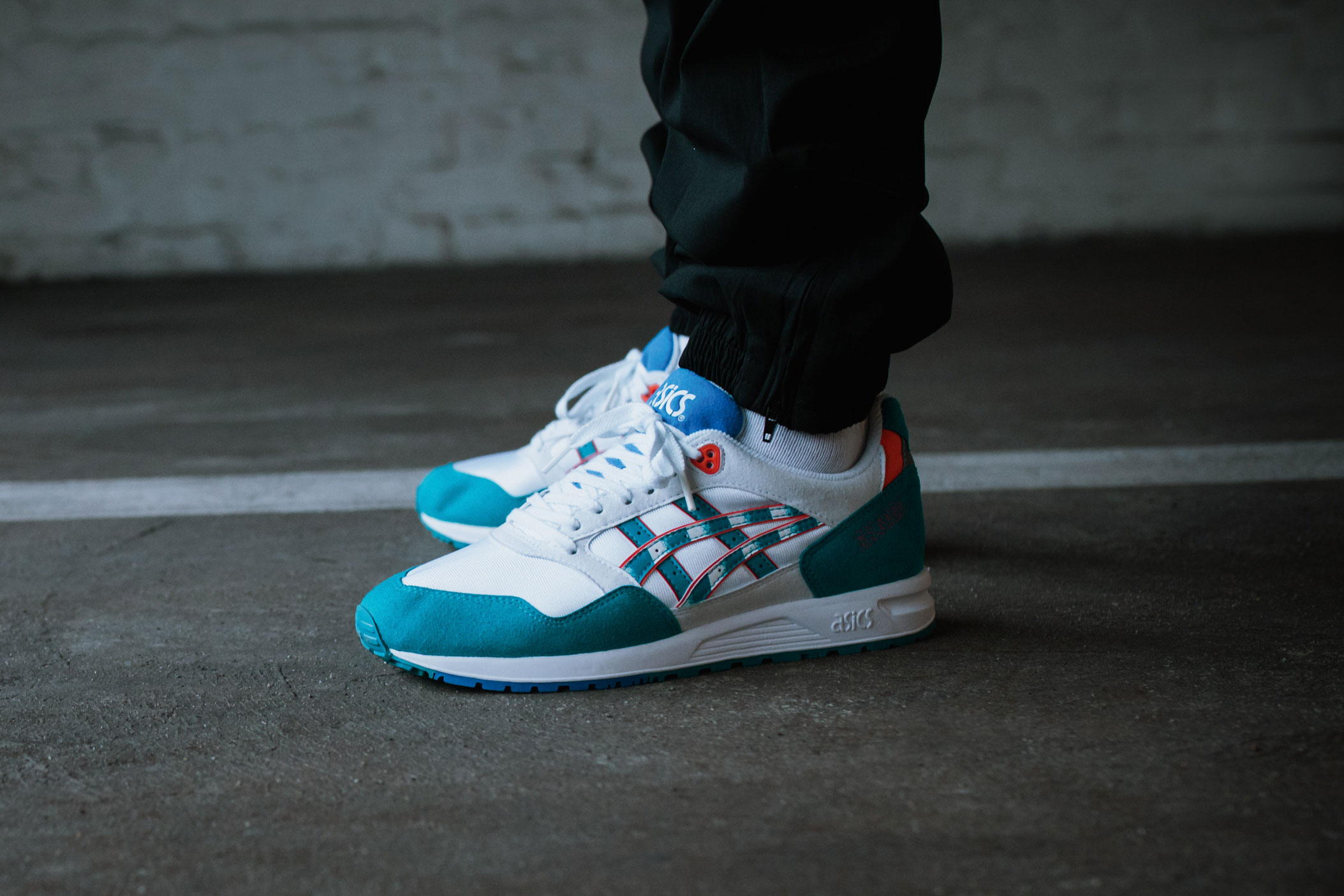 ASICSTIGER GELSAGA Zebra Pack - White Teal Blue (Mood 1)