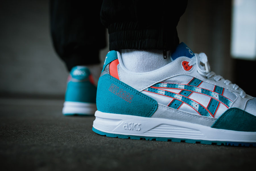 ASICSTIGER GELSAGA Zebra Pack - White Teal Blue (Mood 2)