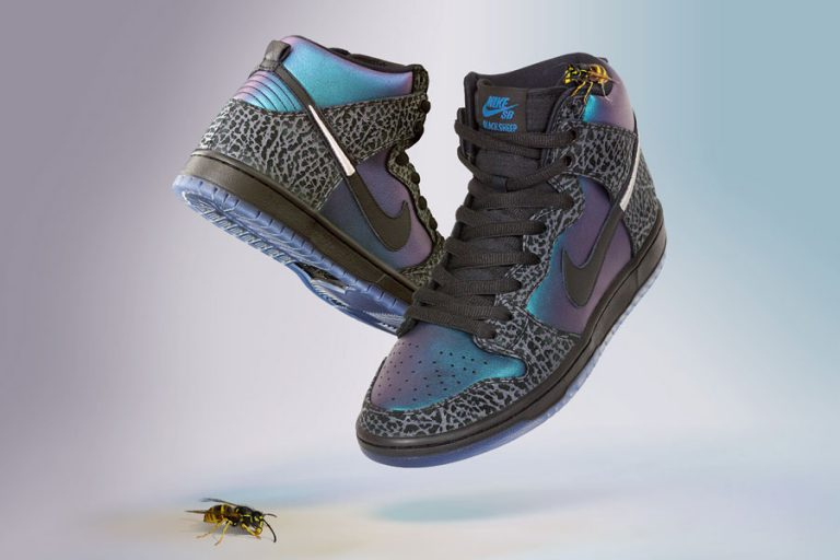 Black Sheep x Nike SB Dunk High QS Black Hornet 1