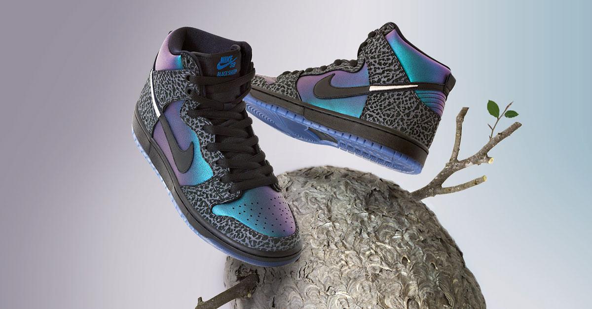 Black Sheep x Nike SB Dunk High QS