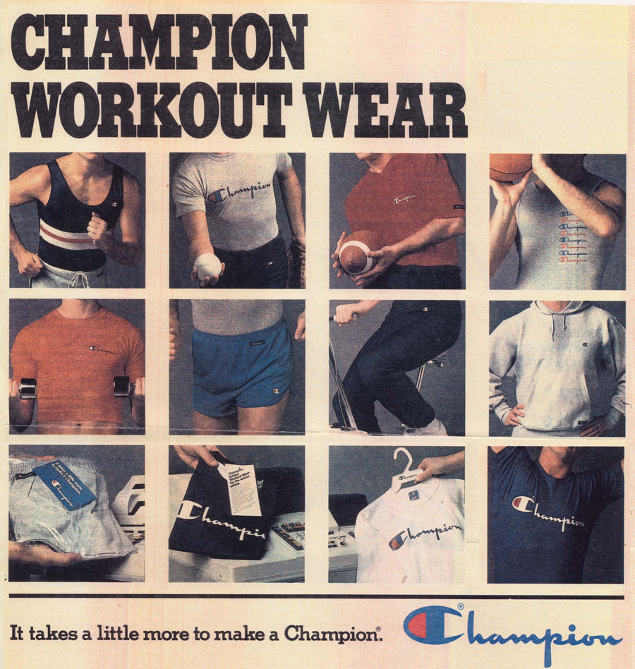 Champion Athleticwear - 100 Years for the Team (Mood 2)