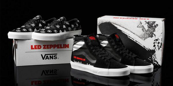 This VANS Collection Celebrates Rock Legends Led Zeppelin