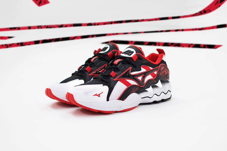Mizuno 90s Athletic Collection - Wave Rider 1 High Risk Red 1