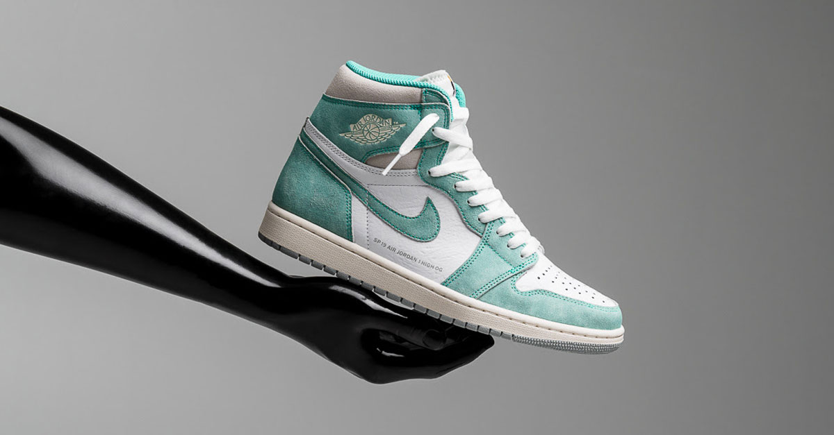 "9c9a7743bcd A Closer Look at the Air Jordan 1 ""Turbo Green"""