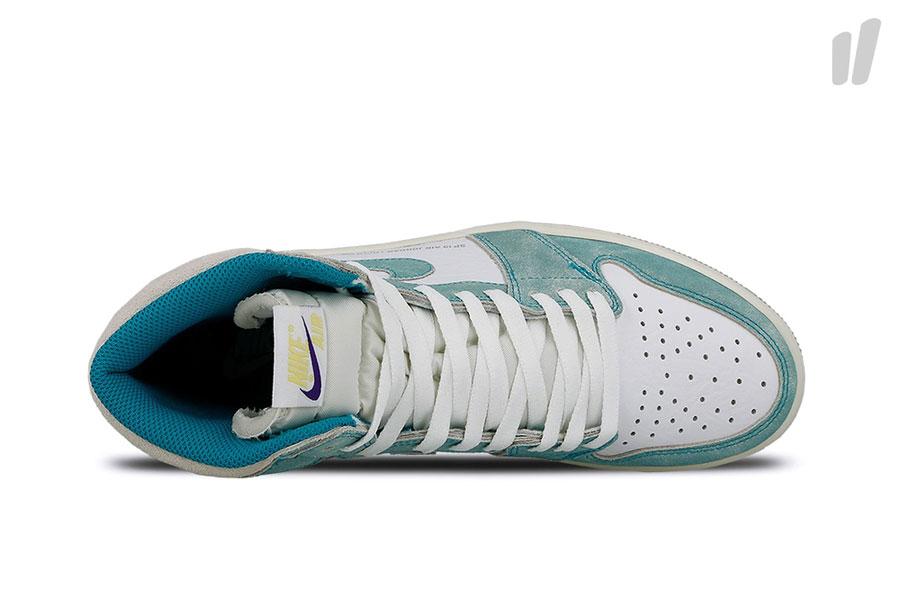 Nike Air Jordan 1 Retro High OG Turbo Green (555088-311) - Top