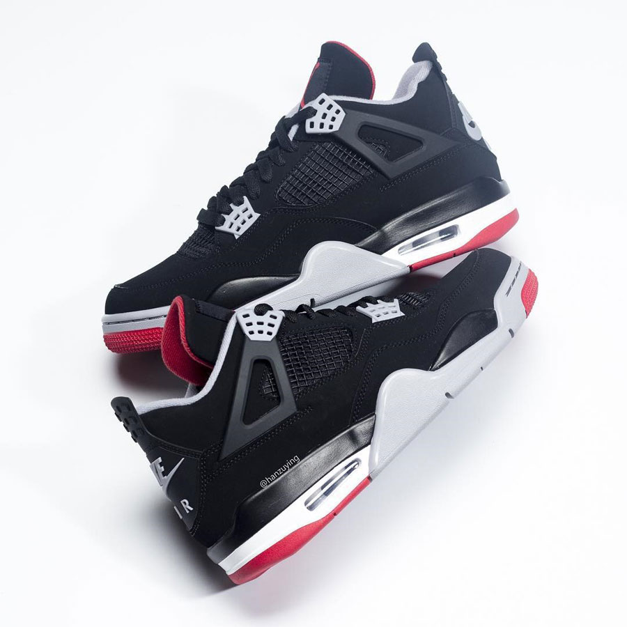 Nike Air Jordan 4 Bred 2019 Retro (308497-060) - Mood 2