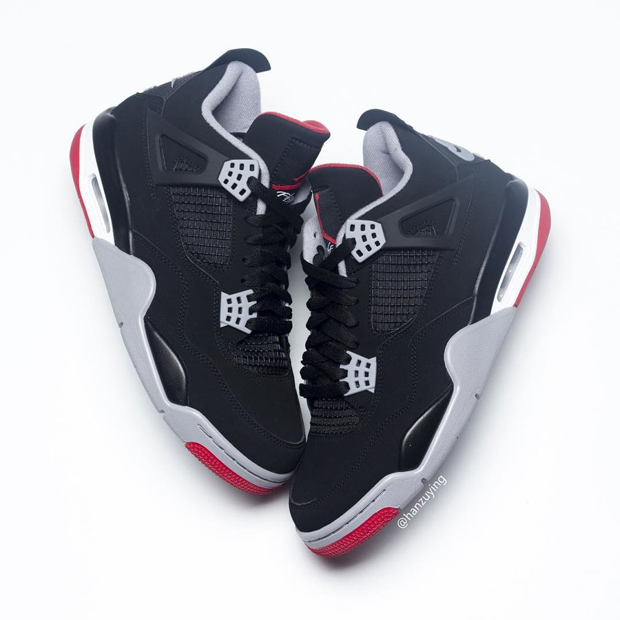 Nike Air Jordan 4 Bred 2019 Retro (308497-060) - Mood 5