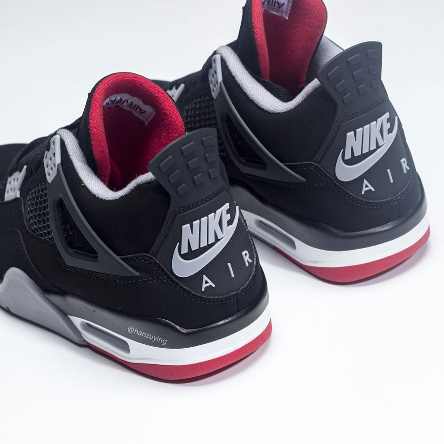 Nike Air Jordan 4 Bred 2019 Retro (308497-060) - Mood 6
