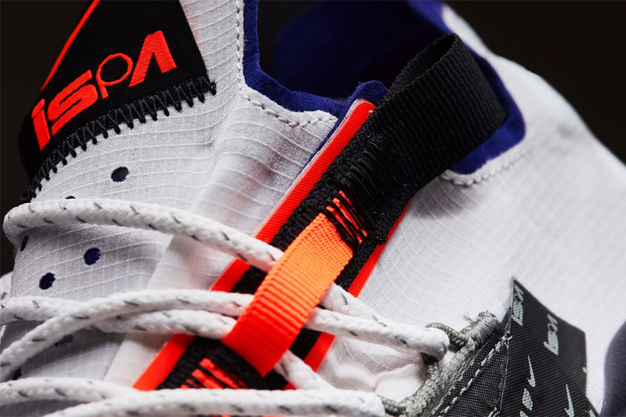 Nike React WR ISPA Summit White Royal Blue (AR8555-100) - Mood 2