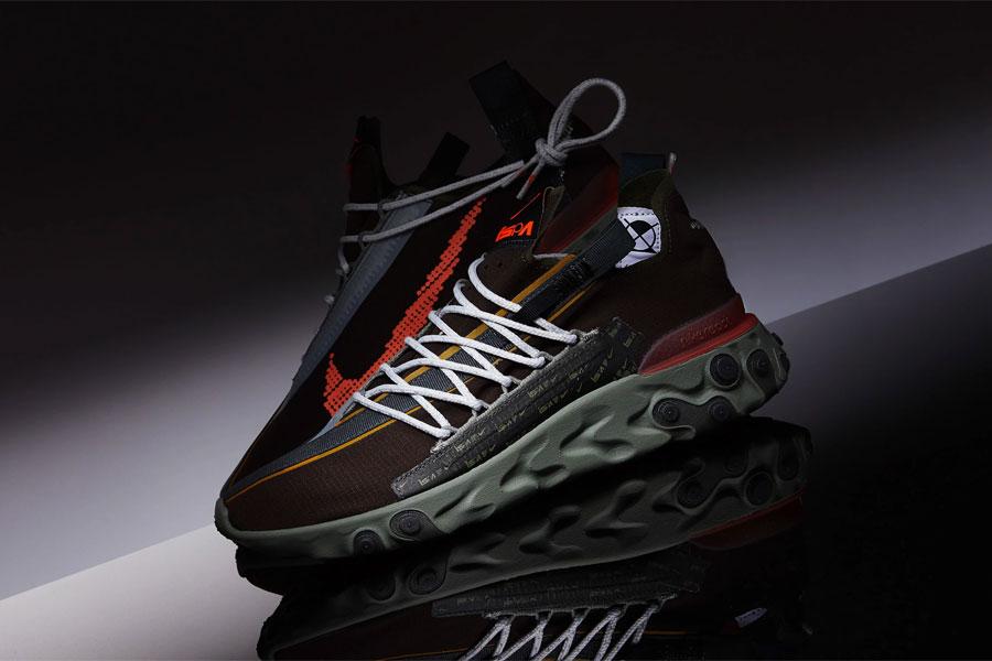Nike React WR ISPA Velvet Brown Terra Orange (AR8555-200) - Mood 1