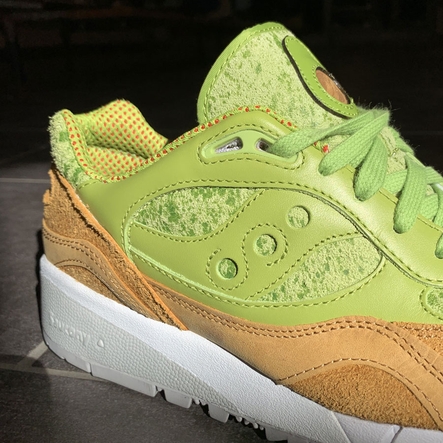 Saucony Shadow 6000 Avocado Toast - Mood 4