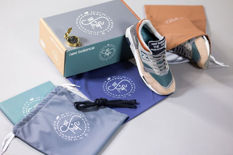 43einhalb x New Balance M150043EH THE TRIP - Box 1