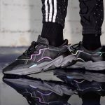 adidas OZ Adiprene Black Xeno - On feet 1