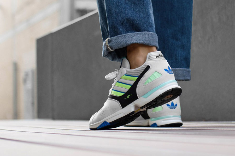 adidas ZX 4000 Crystal White Semi Solar Yellow Core Black (G27899) - Mood 2