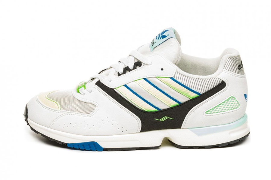 adidas ZX 4000 Crystal White Semi Solar Yellow Core Black (G27899)